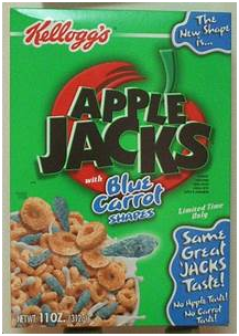 Apple Jacks bowls of cereal